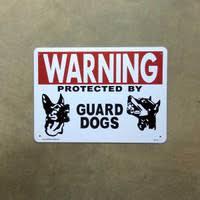 サインプレート猛犬注意2