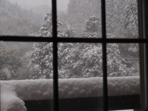 2010年12月27日の七山の風景